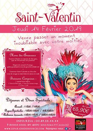 Soirée Saint-Valentin Alsace Cadeau original Saint-Valentin