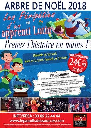 Arbre de Noël Alsace tarif réduit offre réduction