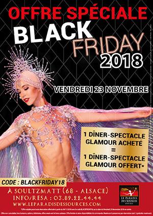 Black Friday - Offre cabaret - Spectacle