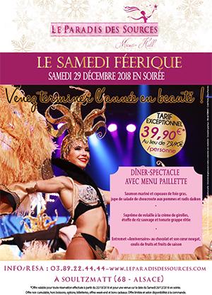 Samedis féeriques au Cabaret en Alsace Noël - Saint-Sylvestre