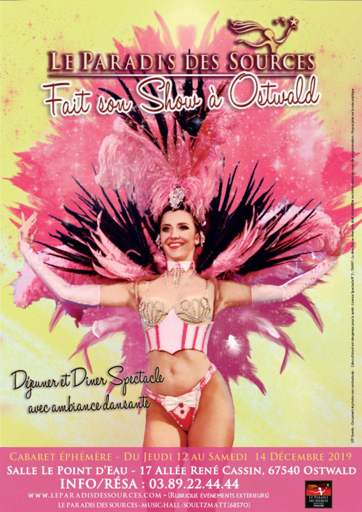 Paradis des Sources fait son show Cabaret à Ostwald Spectacle